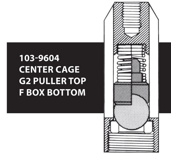 103-9604 CENTER CAGE