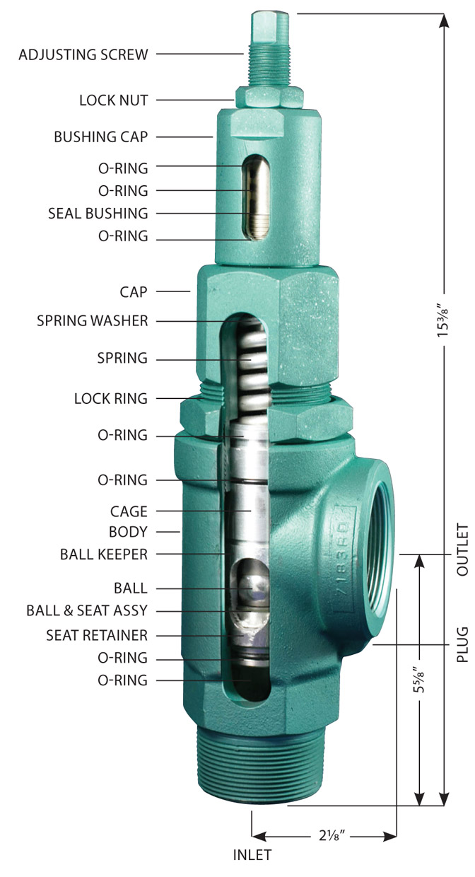 Baird Manufacturer 2 Bpr 174 Back Pressure Regulator